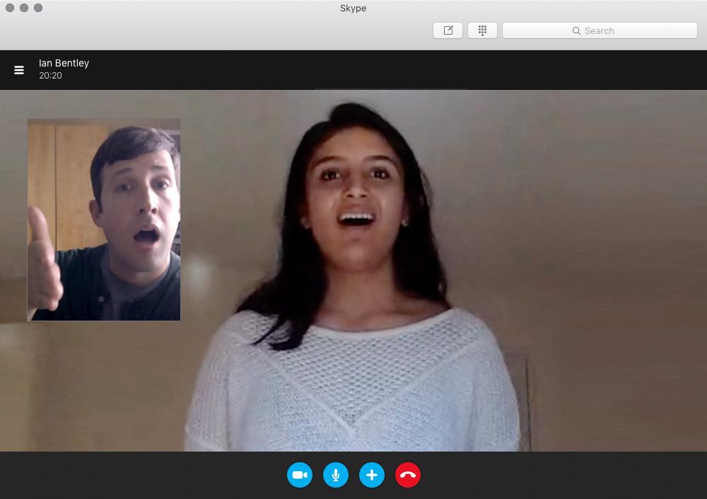 Skype Lesson